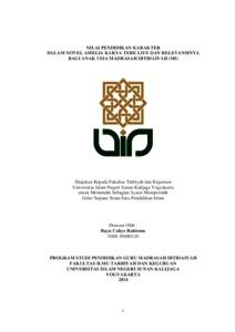 Skripsi Nilai Pendidikan Dalam Novel Pdf