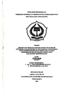 thesis produktivitas Phd dissertations and master's theses (by year) 2017 produktivitas lahan dan air pada (this thesis was based on both on-station experimental trials at.