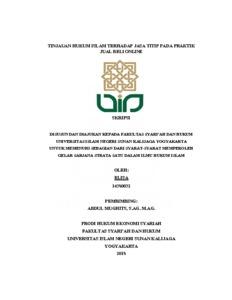 Tinjauan Hukum Islam Terhadap Jasa Titip Pada Praktik Jual Beli Online Institutional Repository Uin Sunan Kalijaga