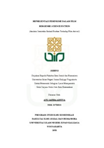 Representasi Feminisme Dalam Film Bergenre Science Fiction Analisis Semiotika Roland Barthes Terhadap Film Arrival Institutional Repository Uin Sunan Kalijaga