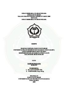 Surat Berharga Syariah Negara Obligasi Syariah Dalam